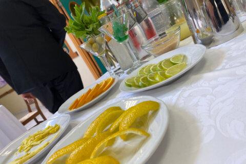 allestimento open bar cocktail aperitivi