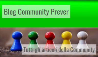 Community Blog tutti i blog della community