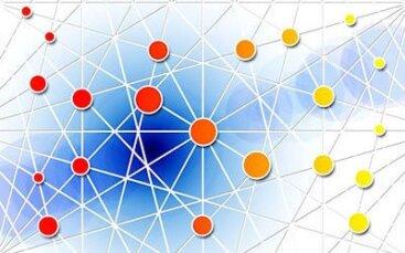 rete con collegamenti tra i poli